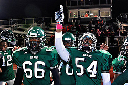 Before Friday night, the last time the Germantown Bears won a public-league playoff game, none of its current players were on the roster. By Saturday morning, they had all won one, that being a 32-27 win over the visiting Lincoln High Rail Splitters at Benjamin L. Johnston Memorial Stadium. (Read NewsWorks hyper-local editor Brian Hickey storyhere: http://bit.ly/GTown_Bears)