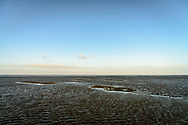 The vast empty Wadden Sea on the West Coast of Denmark.<br />