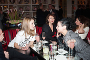 AMBER ATHERTON; JEWELS GOOD, Liberatum Cultural Honour  for John Hurt, CBE in association with artist Svetlana K-Lié.  Spice Market, W London - Leicester Square