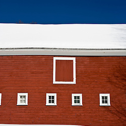 A barn in Newfane, Vermont.
