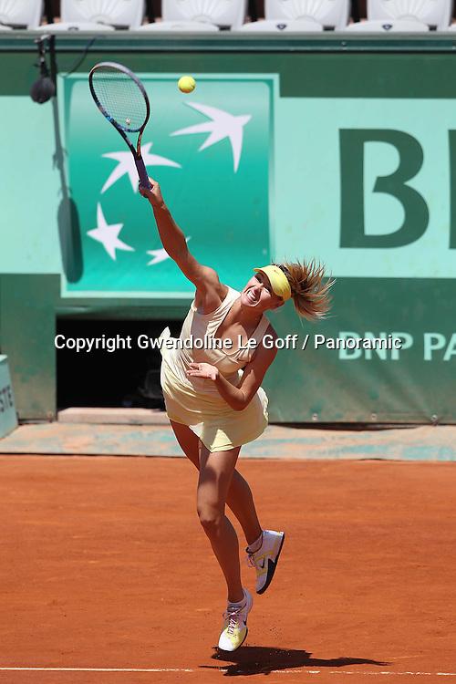 Tennis : Roland Garros - 1/4 Finales Femmes - 01.05.2011 - Maria Sharapova (RUS)