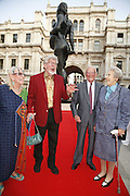 Mr. and Mrs, Rolf Harris and Lord and Lady Carrington, Summer Exhibition preview party. Royal Academy. Piccadilly. London. 7 June 2006. ONE TIME USE ONLY - DO NOT ARCHIVE  © Copyright Photograph by Dafydd Jones 66 Stockwell Park Rd. London SW9 0DA Tel 020 7733 0108 www.dafjones.com