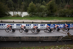 Boels Dolmans at UCI Road World Championships 2018 - Women's Team Time Trial, a 54 km team time trial in Innsbruck, Austria on September 23, 2018. Photo by Sean Robinson/velofocus.com