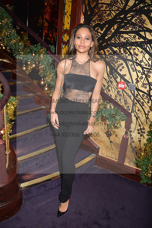 VISCOUNTESS WEYMOUTH at the UK launch of WhoWhatWear UK held at Loulou's, Hertford Street, London on 24th November 2015.