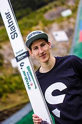 Nejc Dezman during national competition in Ski Jumping, 8th of October, 2016, Kranj,  Slovenia. Photo by Grega Valancic / Sportida