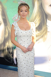 Sydney Sweeney at the Los Angeles premiere of HBO's Limited Series 'Sharp Objects' held at the Cinerama Dome in Hollywood, USA on June 26, 2018.