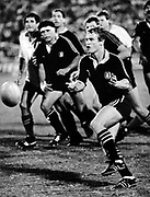 Grant Fox - Cavaliers test at Ellis Park in 1986.<br /> Copyright photo: Wessel Oosthuizen / www.photosport.co.nz
