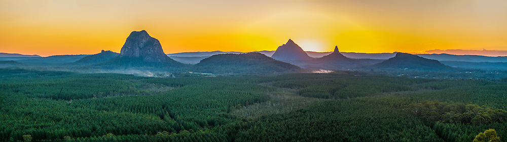 Glasshouse Mountains, Queensland, Australia