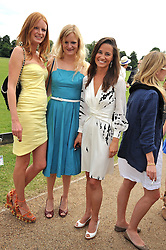 Left to right, OLIVIA INGE, ALEXIA INGE and PIPPA MIDDLETON at a charity polo match organised by Jaeger Le Coultre was held at Ham Polo Club, Richmond, Surrey on 12th June 2009.