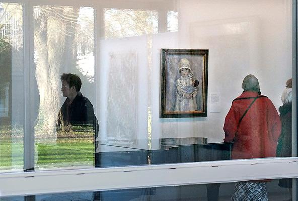 Nederland, Laren, 15-1-2012Vanwege de grote belangstelling is de tentoonstelling in het Singer museum over schilder Jan Sluijters verlengd.Foto: Flip Franssen/Hollandse Hoogte