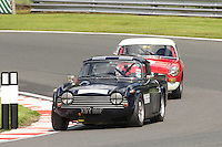 HSCC Gold Cup Oulton Park, Cheshire, United Kingdom.  28th-29th August 2011.  Race 3 HSCC Historic Road Sports. Supported by Moss Europe Ltd. 38 James Owen Triumph TR5. World Copyright: Peter Taylor/PSP. Copy of publication required for printed pictures. Every used picture is fee-liable.