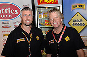 Steven Lemmers & Paul Hidden.IndependentGrocers Festival of Food at the Convention Centre.