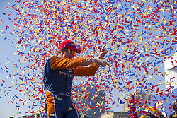 July 15, 2018 - Toronto, Ontario, Canada - SCOTT DIXON (9) of New Zealand celebrates winning Honda Indy Toronto, a Verizon IndyCar Series race. (Credit Image: © Justin R. Noe Asp Inc/ASP via ZUMA Wire)