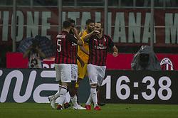 September 1, 2018 - Milan, Italy - Serie A football, AC Milan versus AS Roma; Gonzalo Higuaín of AC Milan (Credit Image: © Gaetano Piazzolla/Pacific Press via ZUMA Wire)