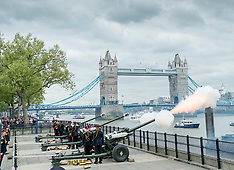 Queen's Birthday Gun Salute 21-4-17