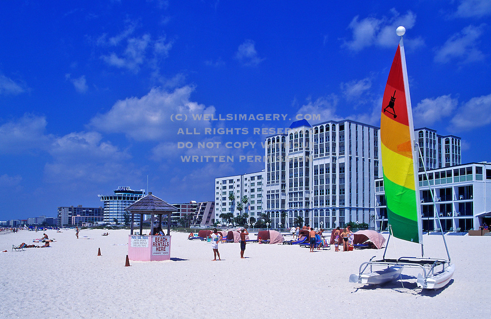 Image of the beach at St. Petersburg, Florida, American Southeast