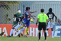 20120202: Rio de Janeiro, BRAZIL - Player Thiago Medeiro  during match between Madureira vs Botafogo for Campeonato Carioca held at Conselheiro Galvao, RJ, Brasil <br /> PHOTO: CITYFILES