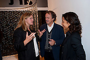 MARINA WALLACE; KATHARINE DOWSON; PAUL WILLIAMS; , Relics of the Mind.- Private view of work by Katharine Dowson. GV Art, 49 Chiltern st. London. W1. 16 September 2010. -DO NOT ARCHIVE-© Copyright Photograph by Dafydd Jones. 248 Clapham Rd. London SW9 0PZ. Tel 0207 820 0771. www.dafjones.com.
