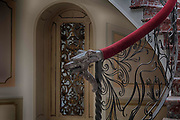 The haunting images of a once-glamorous Italian villa that now lies abandoned <br /><br />These haunting images, by 37-year-old Dutch photographer Maikel Brands, reveal how the villa&rsquo;s glamorous days are long over, because the building, in the Marche region, lies abandoned, with nature reclaiming the pool and the insides looking more spooky than spectacular.<br /><br />Maikel Brands said: &quot;Too bad the swimming pool was empty, because a little pool party would be nice. Once inside I was stunned by its beauty. Such a lovely staircase, so much detail. But when I entered the master bedroom I couldn&rsquo;t believe my eyes. How is it possible that such a beautiful place is abandoned&quot;<br />&copy;Maikel Brands/Exclusivepix Media