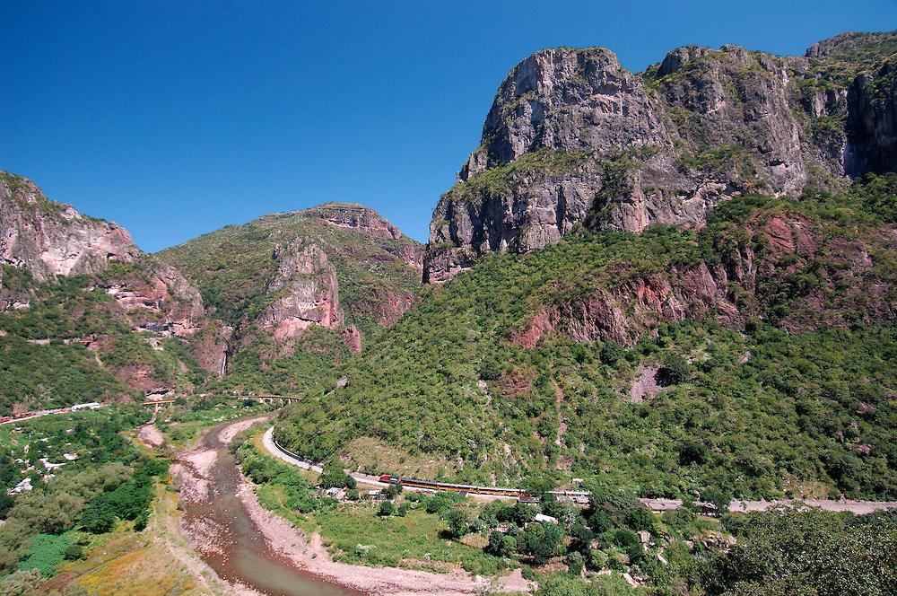 Chepe Train, Copper Canyon, Chihuahua, Mexico