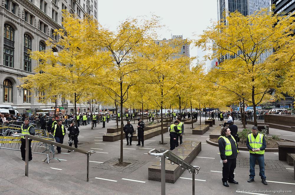 November 15, 2011, Zuccotti Park, NY