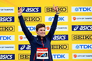 Alice Moindrot (FRA) wins the Bronze Medal in Pole Vaullt Women during the IAAF World U20 Championships 2018 at Tampere in Finland, Day 4, on July 13, 2018 - Photo Julien Crosnier / KMSP / ProSportsImages / DPPI