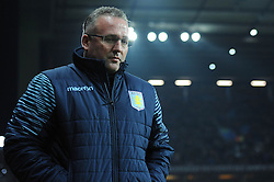Aston Villa Manager, Paul Lambert - Photo mandatory by-line: Dougie Allward/JMP - Mobile: 07966 386802 - 24/11/2014 - SPORT - Football - Birmingham - Villa Park - Aston Villa v Southampton - Barclays Premier League