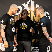 NLD/Rotterdam/20200224 - Stare down Boxing Influencers 2020, Donny Roelvink vs. DieTim