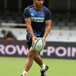 Nick Phipps of the NSW Waratahs during the NSW Waratahs Cap Run at  Growthpoint Kings Park Durban , South Africa. March 9th 2017(Photo by Steve Haag)<br /> <br /> images for social media must have consent from Steve Haag