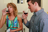 Cantele winery-tasting with American students