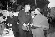 17/03/1964<br /> 03/17/1964<br /> 17 March 1964<br /> St. Patrick's Day Parade, Dublin.  Lord Mayor Sean Moore on right.