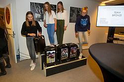 Team Children, Van den Branden Elise, Guisson Aurelia, Vandousselaere Paris, Putters Evelyne, Ameeuw Louise<br /> KBRSF Zaventem 2018<br /> © Hippo Foto - Dirk Caremans<br /> 26/11/2018