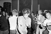 The crowd at Angelic Upstarts dockers benefit gig, Camden 1987