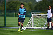 Dele Alli during Tottenham Training Session at Tottenham Training Centre, Enfield, United Kingdom on 13 September 2016. Photo by Jon Bromley.