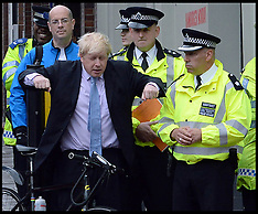 MAY 27 2014 Boris Joins police as road safety enforcement is stepped up