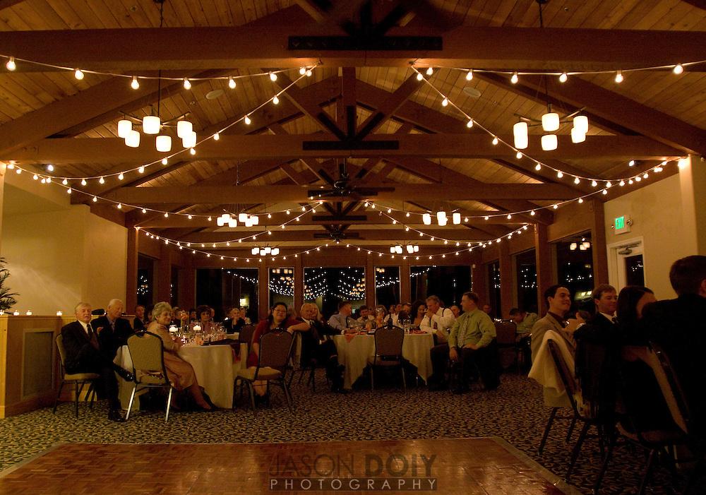 Maja and Rob's wedding tannenbaums.