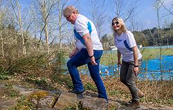 02-04-2017 NED: Camino We Hike 2 Change Diabetes, Arnhem<br /> In juni gaan een groep mensen met diabetes laten zien dat sport een uitstekend middel is voor een gezond leven. In zes dagen wandelen ze van Astorga naar O'Cebreiro en sluiten de week af in Santiago de Compostella. Vandaag was de derde training op Papendal en kregen de deelnemers een Spaanse les voorgeschoteld.