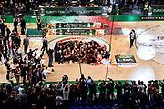 Premiazione vincitrice F8 Venezia<br /> Umana Reyer Venezia - Happy Casa Brindisi<br /> LBA Final Eight 2020 Zurich Connect - Finale<br /> Basket Serie A LBA 2019/2020<br /> Pesaro, Italia - 16 February 2020<br /> Foto Mattia Ozbot / CiamilloCastoria