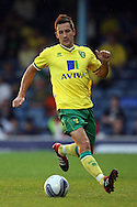 Picture by Paul Chesterton/Focus Images Ltd.  07904 640267.28/7/11 .Adam Drury of Norwich City during a pre season friendly at Roots Hall Stadium, Southend...