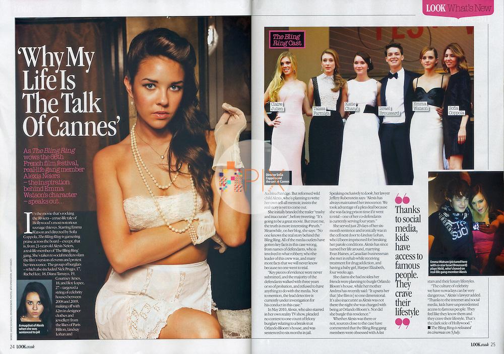 Alexis Neiers LOOK MAGAZINE UK :: 3 June 2013