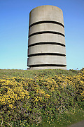 German direction finding tower, Pleinmont, Guernsey, Channel Islands, UK