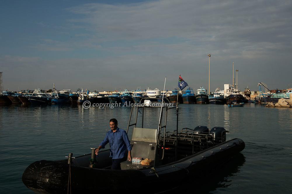 Coast guard of Zuwara. Libya, Zuwara: Alessio Romenzi