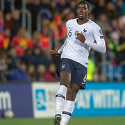ANDORRA LA VELLA, ANDORRA. June 1.  Paul Pogba #6 of France in action during the Andorra V France 2020 European Championship Qualifying, Group H match at the Estadi Nacional d'Andorra on June 11th 2019 in Andorra (Photo by Tim Clayton/Corbis via Getty Images)