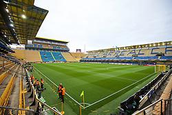 VILLRREAL, SPAIN - Thursday, April 28, 2016: A general view of Villarreal CF's Estadio El Madrigal ahead of the UEFA Europa League Semi-Final 1st Leg match against Liverpool. (Pic by David Rawcliffe/Propaganda)