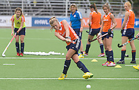 TUCUMAN - Xan de Waard. Het Nederlands vrouwen hockeyteam trainde vrijdag voor de Hockey World League finaleronde, die zateredag begint. Nederland speelt zaterdag tegen Duitsland.  KNHB KOEN SUYK