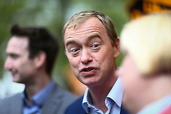 © Licensed to London News Pictures. 21/04/2017. Manchester UK. Liberal Democrat party leader TIM FARRON launches the Liberal Democrats Election Campaign today at Cringle park in Manchester. Tim Farron will be campaigning in two target seats in Manchester, Gorton & Withington. Photo credit: Andrew McCaren/LNP