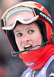 11.03.2010, Goudyberg Damen, Garmisch Partenkirchen, GER, FIS Worldcup Alpin Ski, Garmisch, Lady Giant Slalom, im Bild Jelusic Ana, ( CRO, #14 ), Ski Atomic, EXPA Pictures © 2010, PhotoCredit: EXPA/ J. Groder / SPORTIDA PHOTO AGENCY