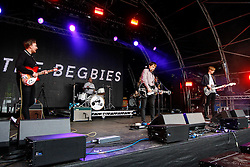 Pictured: The Begbies open day 2 of Party at the Palace at Linlithgow Palace. Andrew West/ EEm
