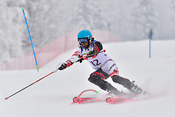 MIZDRAK Damir Guide: MIKULIC Ria, B3, CRO, Men's Giant Slalom at the WPAS_2019 Alpine Skiing World Championships, Kranjska Gora, Slovenia