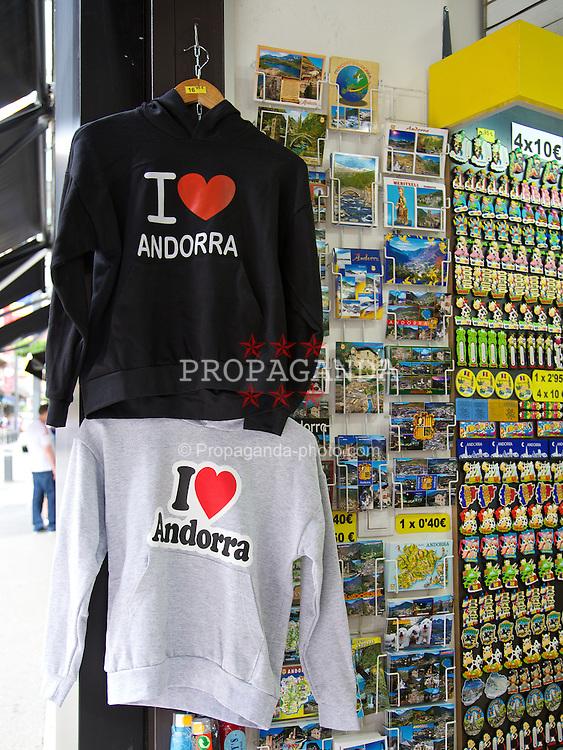 ANDORRA LA VELLA, ANDORRA - Tuesday, September 9, 2014: Andorra. (Pic by David Rawcliffe/Propaganda)